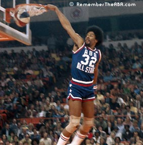 Dr J Dunk Contest